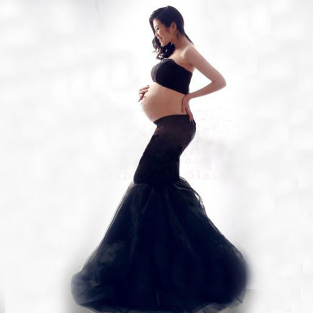 Lace Maternity Photography Props Clothes Pregnancy Gown Set Dresses ...