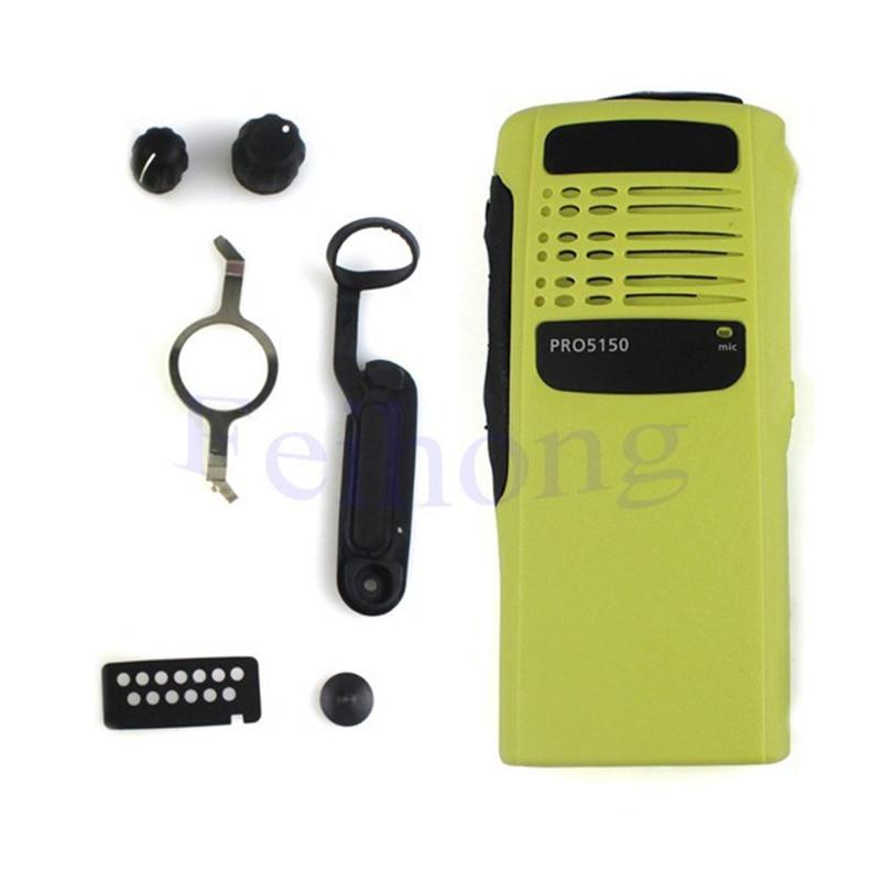 Yellow Radio Service Parts Case Refurb Kit For Motorola PRO5150 WalkieTalkiewalkie Talkie
