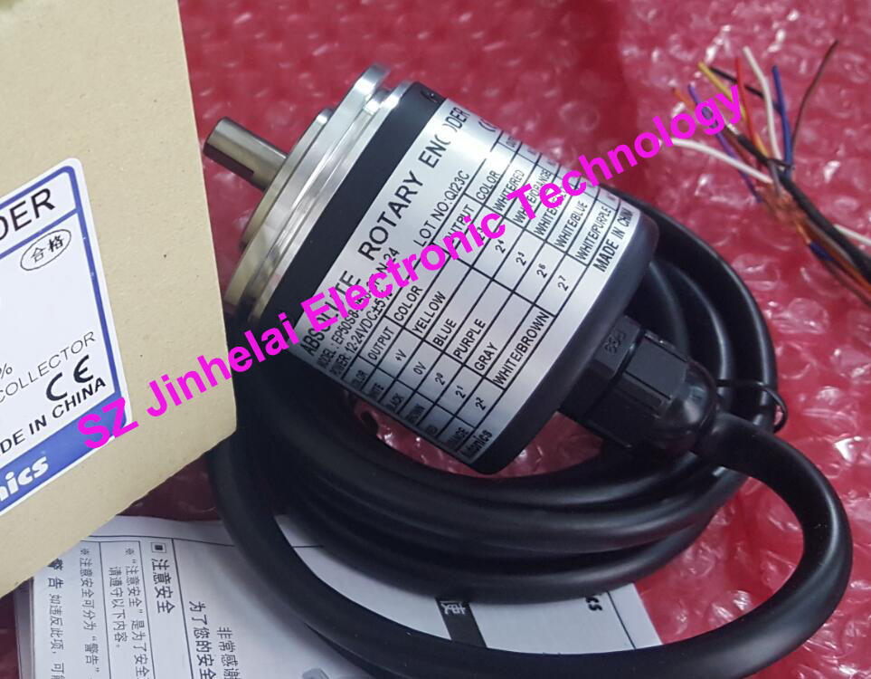 EP50S8-360-3F-N-24, EP50S8-360-3R-N-24 New and original AUTONICS ABSOLUTE ROTARY ENCODER rotary encoder e40hb8 360 3 n 24
