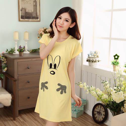 2016 nova da menina verão quente venda linda camisola de seda pijama Sleepwear camisola
