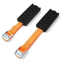 1 Pair Car Tire Belt Snow Mud Chains Anti Slip Chain Hard Wearing Snow Chain Recovery