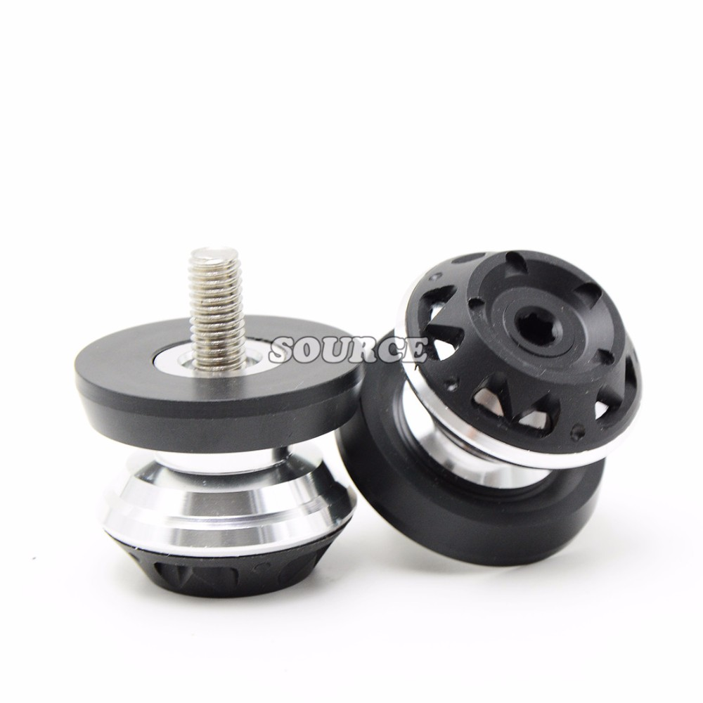Motorcycle accessories CNC Aluminum Motorcycle Swingarm Spools slider For Kawasaki honda CBR600 F2 F3 F4 F4i F5 CBR1000RR