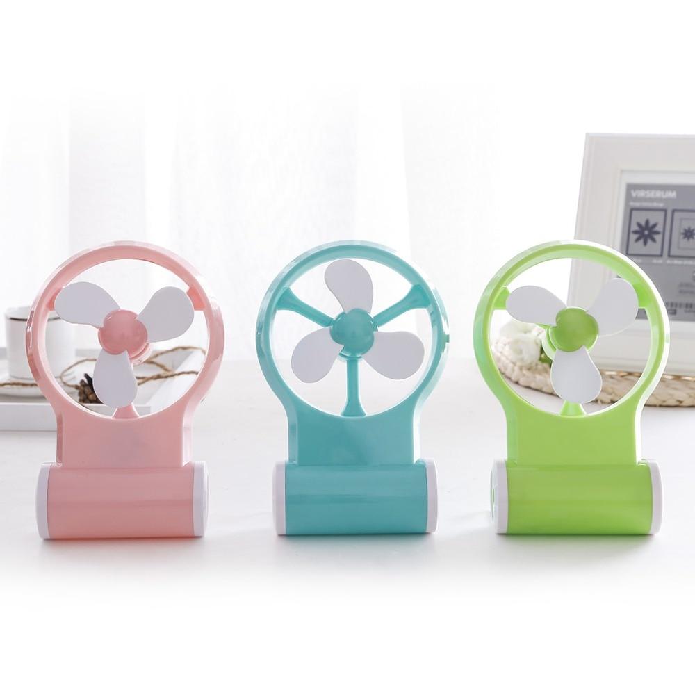 купить Mini Handheld Air Conditioner Fan Portable USB Cooler Cooling Homeuse Office Rechargeable недорого