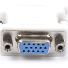 New 24+1 DVI D Male To VGA Female Socket Adapter Converter Connector