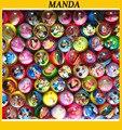 32 мм Резина Карты Прыгающий Мяч Смешанные Изображения Надувные Пропустить Мяч 20 шт./лот