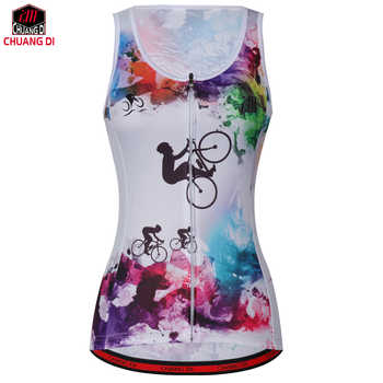 High quality Women Sleeveless Riding Bike Cycling Vest Sunscreen Bike Vest Lightweight Breathable Bike Bicycle Jersey Clothes - DISCOUNT ITEM  25% OFF All Category