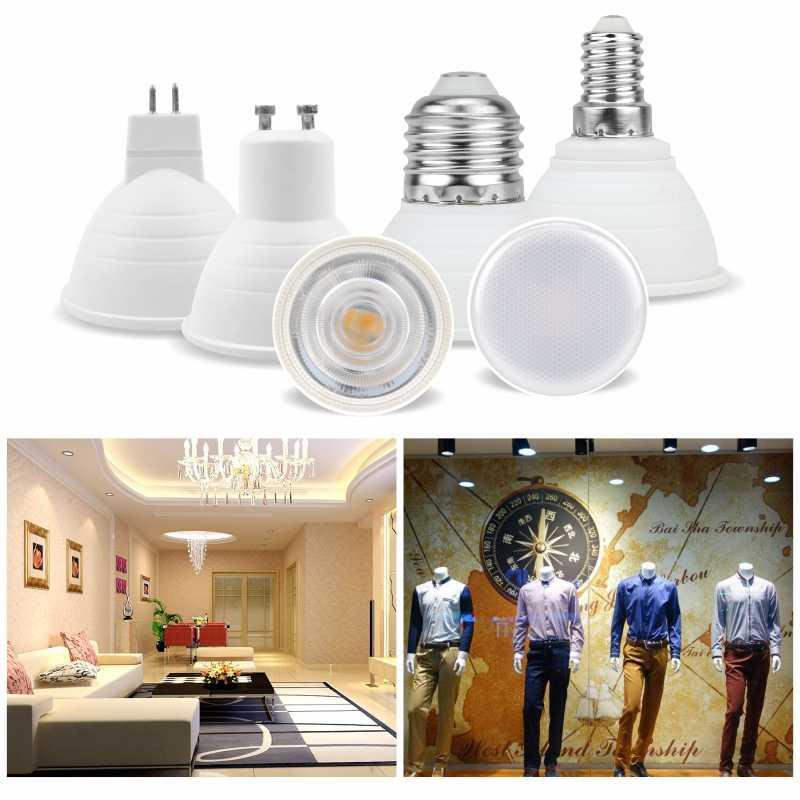 LED הנורה E27 E14 MR16 GU10 GU5.3 Lampada Led 6W 220V-240V 24/120 תואר Bombillas LED מנורת זרקור Lampara LED ספוט אור