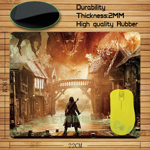 The Hobbit Mouse Pad with Personalized Design
