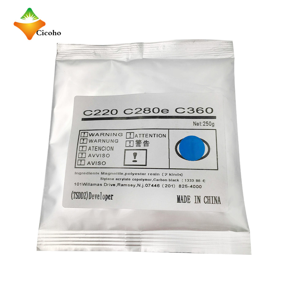 Bizhub C360 developer For Konica Minolta Bizhub C280 c220 c360 developer C280e developer for Konica Minolta printer parts bizhub c220 c280 c360 organic photoconductor imaging kit for konica minolta dr311 dr 311 dr 311 drum cartridge with opc