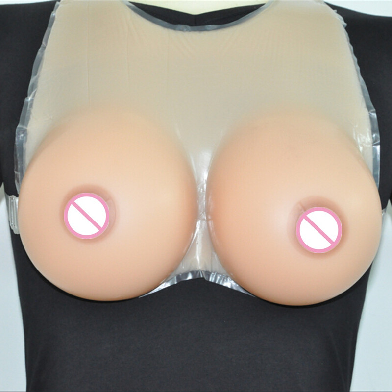 Topleeve 5000g/pair Sz H  False breast Artificial Breasts Silicone Breast Forms Fake boobs realistic silicone breast forms