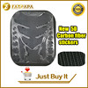New Motorcycle 3D Stereo High Quality Carbon Brazing Fuel Tank Fish Bone Decoration Stickers Fit For