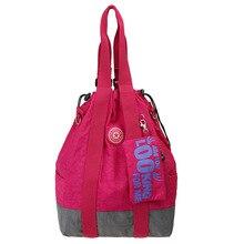 New Korean version of large capacity portable Mummy bag multifunctional backpack trend slung waterproof nylon