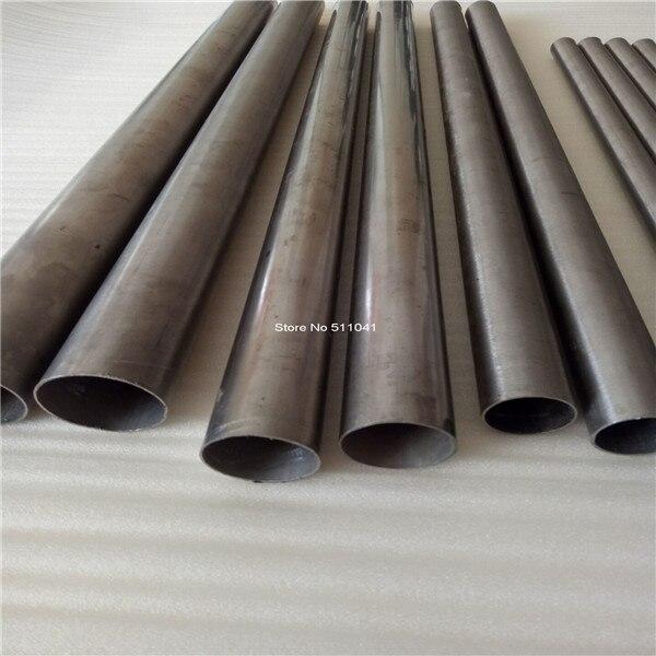 Gr2 tube titane OD60mm x 2.5 mur, longueur 500mm, 2 pièces