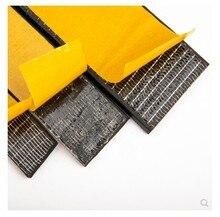 3m x 15mm 10mm flat epdm rubber foam sponge cabinet door sealing strip weatherstrip