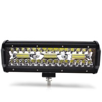 Safego 9inch 180w LED work light bar spot beam Tri row car Driving lights for Off Road truck 4WD 4x4 UAZ motorcycle ramp 4800lm
