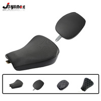 Motorcycle Front Driver Rear Passenger Solo Seat Cushion For Harley Sportster Forty Eight XL1200 883 72 48