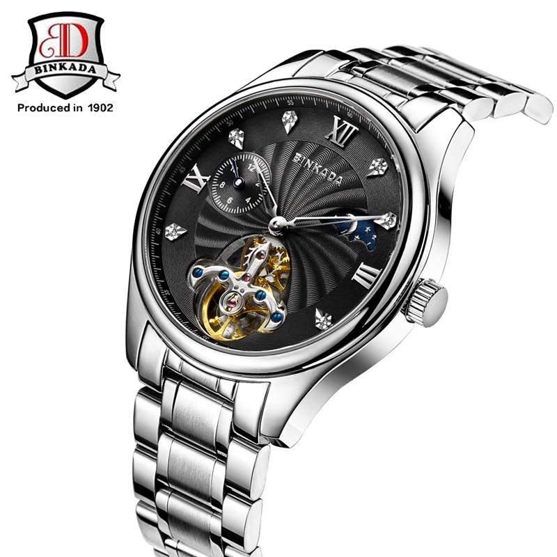 Marca BINKADA Reloj Hombre Reloj de cerámica Relojes mecánicos a - Relojes para hombres - foto 3