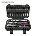 Workpro 48 pc conjunto de ferramentas soquete conjunto 1/4