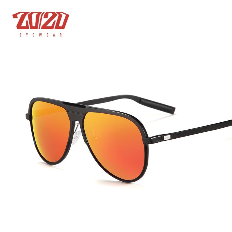 Image 3 - 20/20 Unisex Classic Brand Aluminum Sunglasses Men Polarized UV400 Mirror Male Sun Glasses Women For Men Oculos PK016brand sun glassessun glassessun glasses brands -