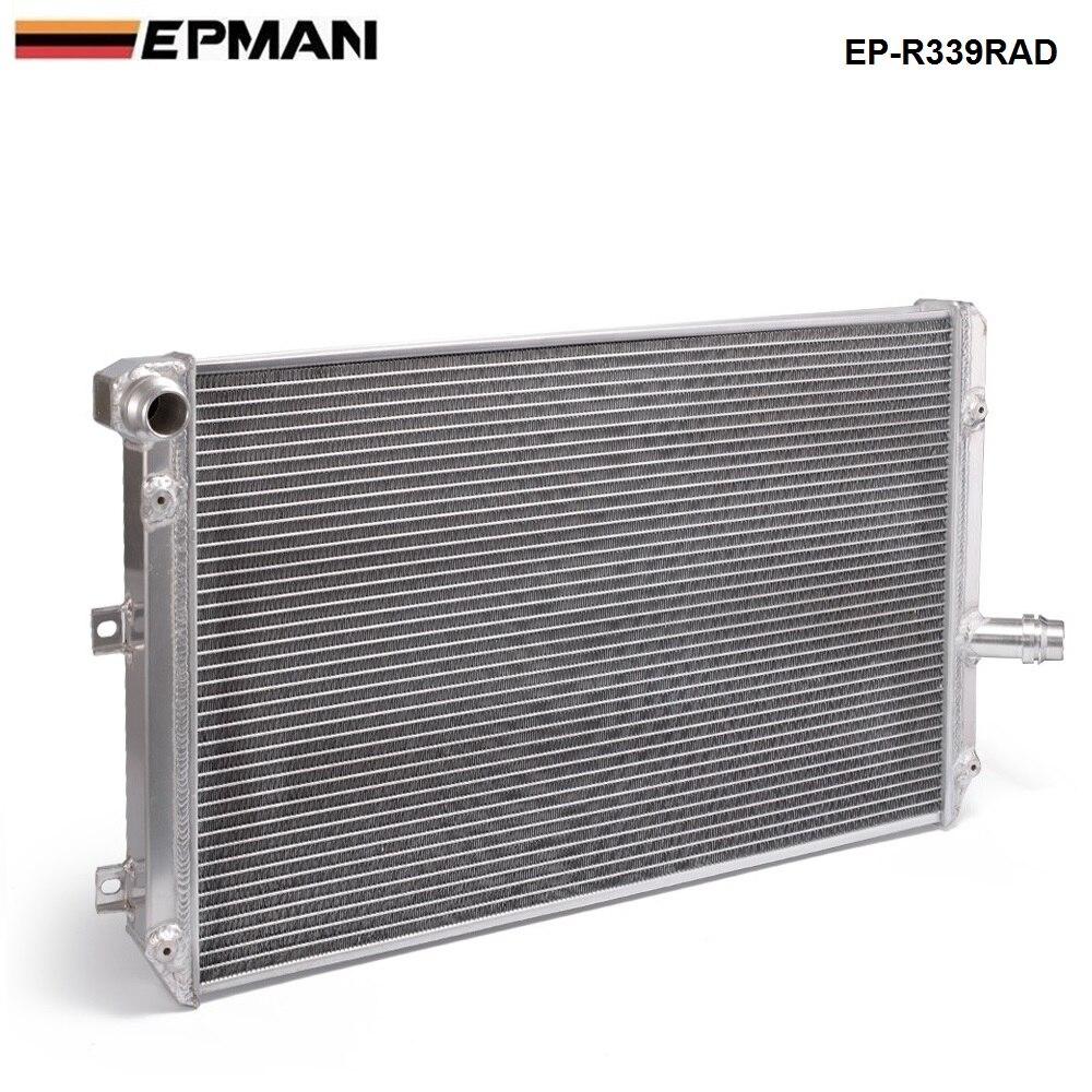 Course pour VW Golf Gti MK5 MT 06-10 manuel 2 rangée pleine alliage course refroidissement radiateur EP-R339RAD