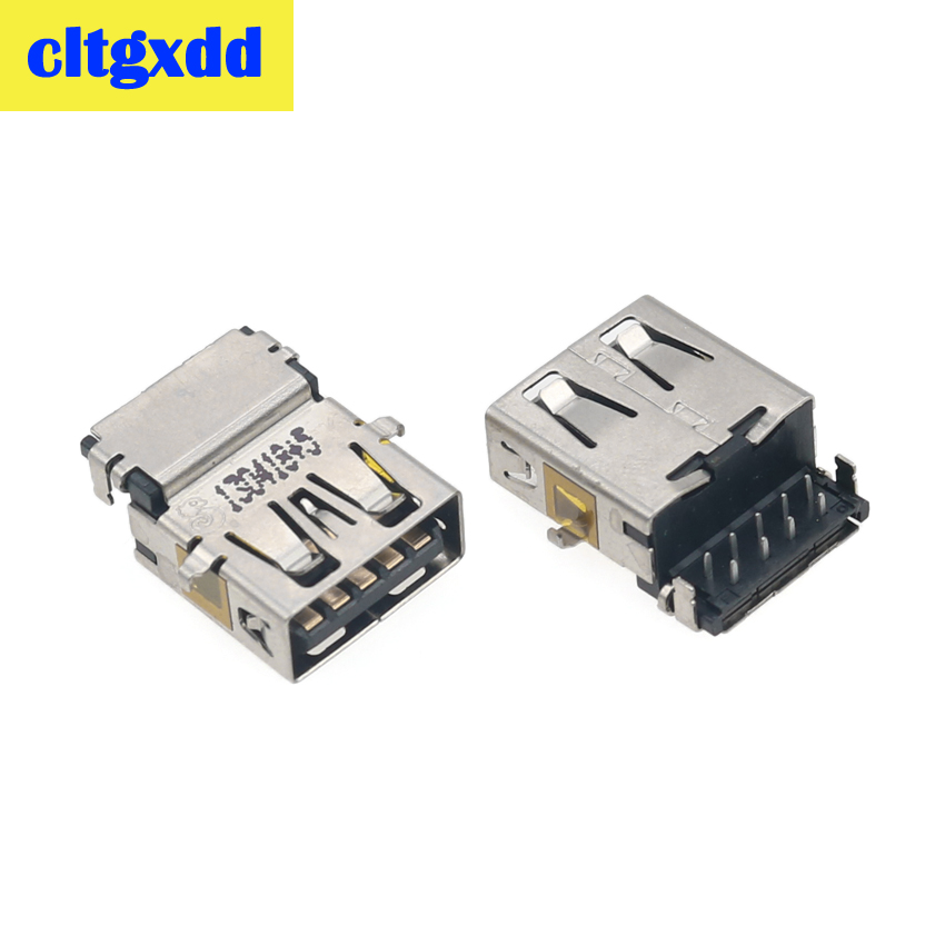 cltgxdd 2-10pcs Female <font><b>USB</b></font> <font><b>3.0</b></font> <font><b>Connector</b></font> For Dell 7737 5437 Latitude 3440 Series Laptop <font><b>Motherboard</b></font> <font><b>3.0</b></font> Socket Data Port image