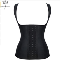 Ann Chery Shapewear Latex Waist Trainer Vest Sport Latex Waist Cincher Vest Hot Shaper Fast Weight