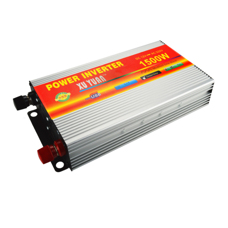 Инвертор, 1500 Вт большой емкости автомобиль home booster, 12 В/24 В до 220 В
