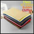 H12 15pcs top quality bubble chiffon hijab wrap shawl scarf 180*75cm 60colors