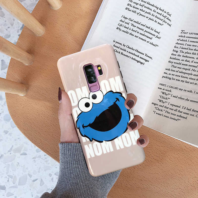 YHBBCASES Cartoon Phone Cases For Samsung S9 Plus Cute Silicone Soft Cover  For Samsung Galaxy S8 Plus Note 8 Note 9 Glossy Case