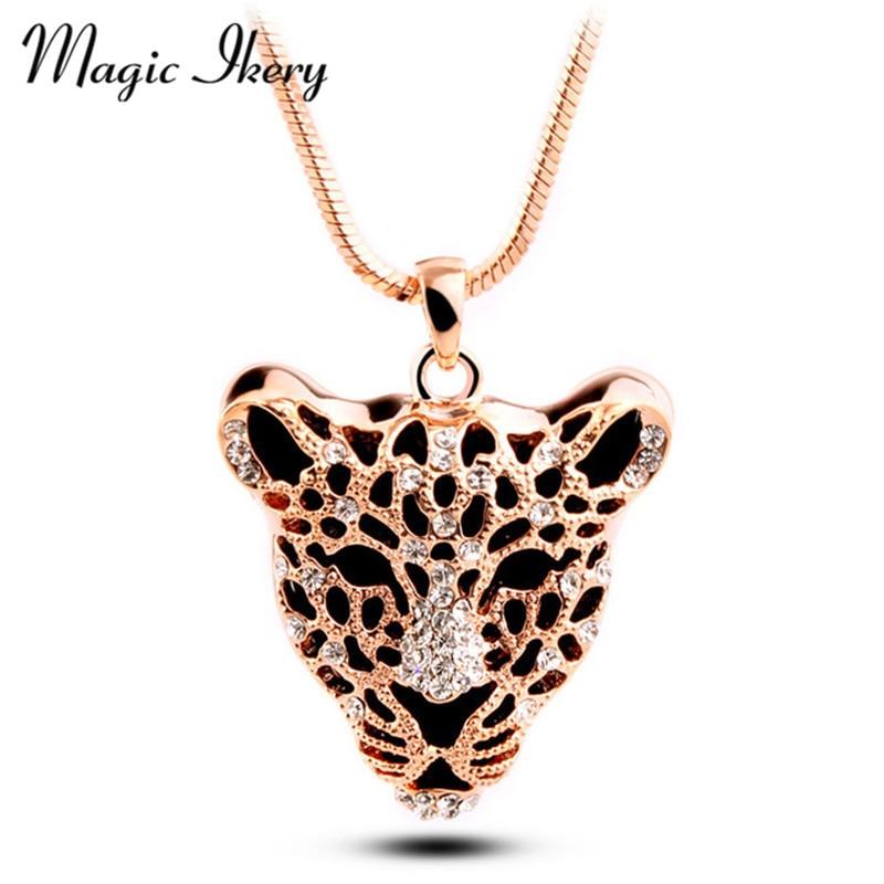 Magic Ikery High Quality Gold Color Chain Rhinestone