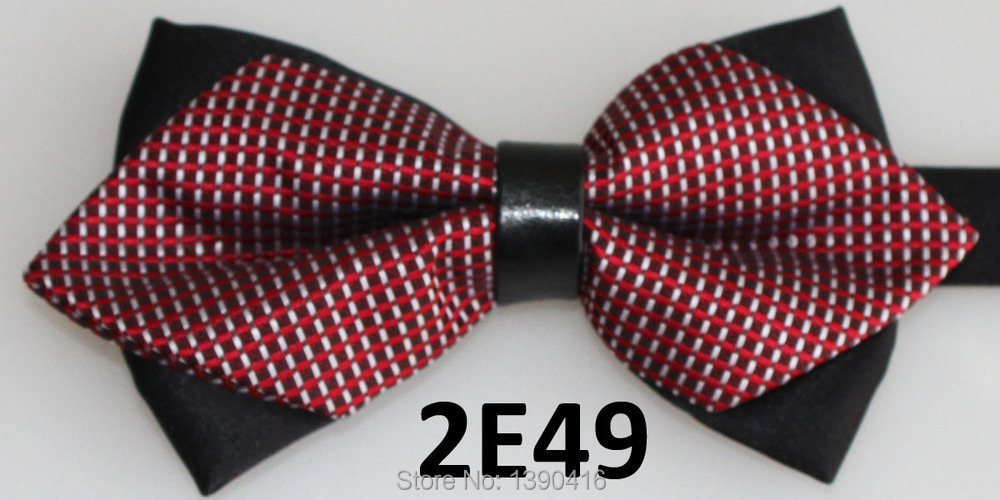 2018 Latest Bow Ties Plaid Design Shirt Wedding Dresses Butterfly Men Suits For Wedding Wine Red&red&silver Butterflies Bowties