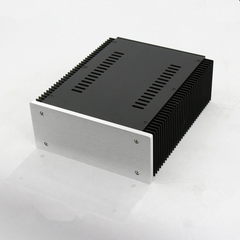 BZ2109A All Aluminum Chassis Amplifier Case Pre Amp Enclosure DIY Audio Box 211MM 90MM 257MM