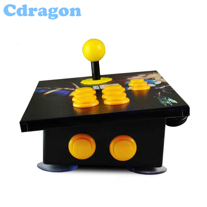 Cdragon arcade stick USB rocker arcade joystick KOF Street Fighter three and PC computer game handle inclined free shipping