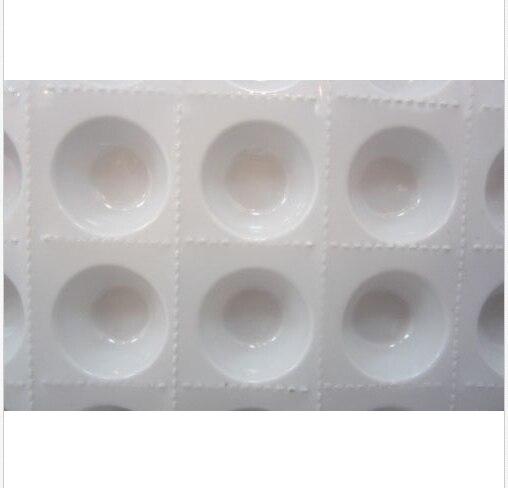 1000pcs Cups/lot,Disposable Perforated Plastic Eyelash ...