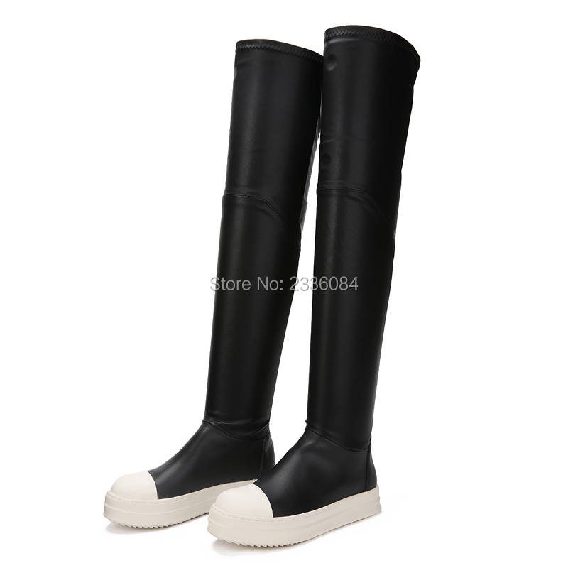 Flat Thigh High Boots Promotion-Shop for Promotional Flat Thigh ...
