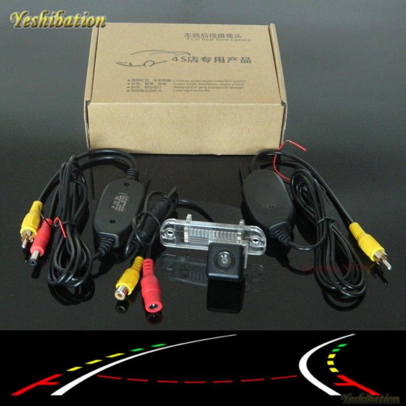 Caméra de stationnement de secours de voiture intelligente Yeshibation pour MB Mercedes Benz M ML W166/avec caméra arrière de Module de pistes