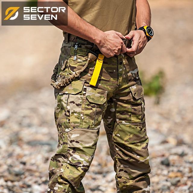 Брюки Sector Seven IX2 мужские тактические, штаны карго для боевых действий, армейские штаны в стиле милитари для активного отдыха, камуфляжные, 2020