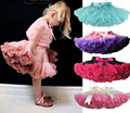 Moda Mullido Gasa Pettiskirts del tutú de los Bebés Faldas Princesa falda de la danza ropa de Fiesta desgaste 12 M-10 T