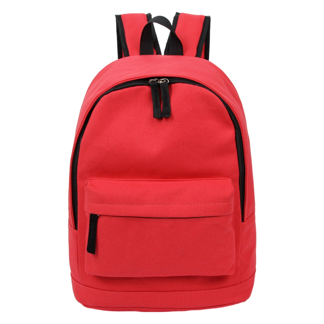 5 pcs of Korea Style Fashion Backpack for Men and Women Preppy Style Soft Back Pack Unisex School Bags Big Capacity Canvas Bag