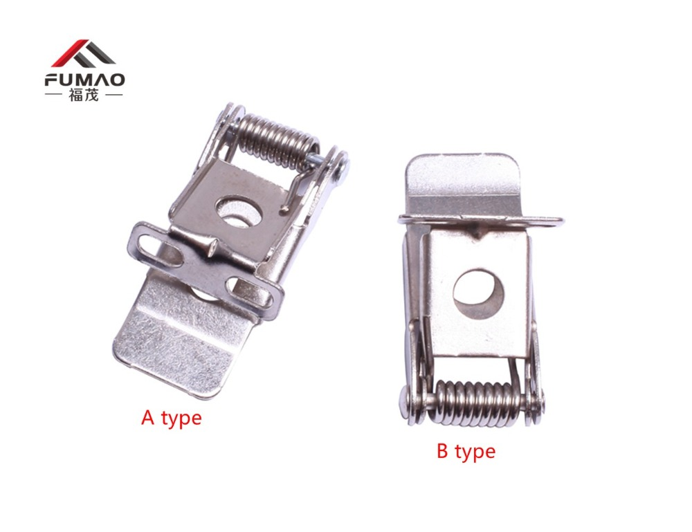 Купить с кэшбэком FUMAO Manufacturer supplied 50X20mm flat steel spring for lighting LED panel clips