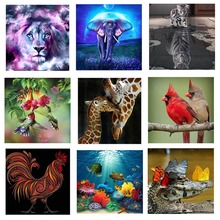New Diamond Painting Full Square Scenery Embroidery Sale Animal Rhinestones Pictures Mosaic Bottle