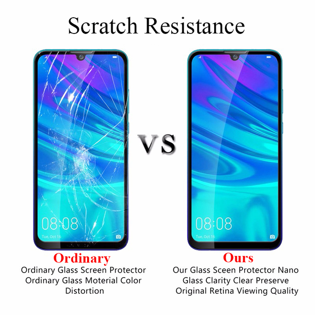 2 uds 9D templado de vidrio para Huawei P Smart Plus 2018 Protector de pantalla para P Smart 2019 Psmart Z lentes de cámara protectores cubierta Fil