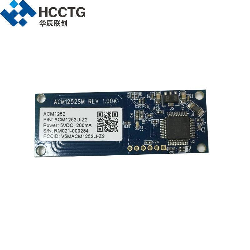 ISO14443 FeliCa Module de Lecteur De Carte Micro USB 13.56 mhz ISO/IEC 18092 étiquettes NFC Lecteur de Module ACM1252U-Z2