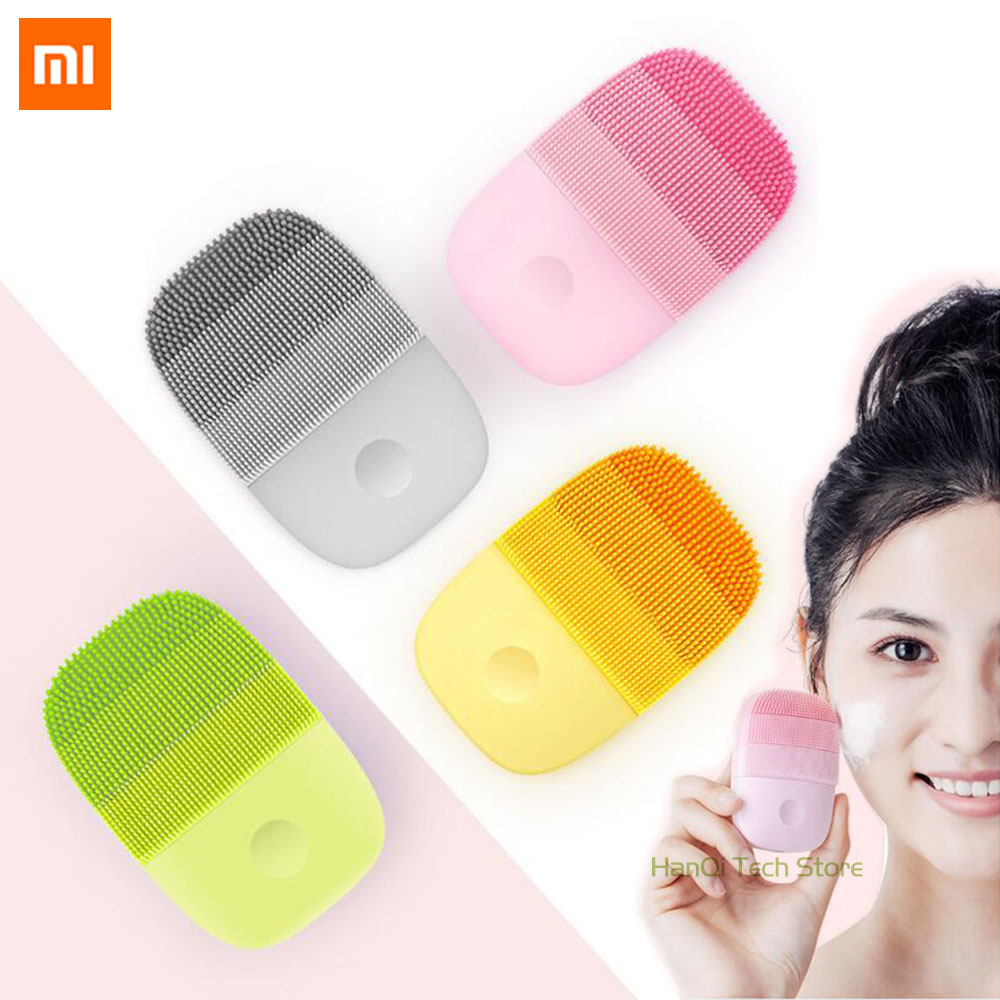<font><b>Xiaomi</b></font> <font><b>youpin</b></font> Cleaning Massage Electric Brush Sonic Face Washing IPX7 Waterproof Silicone Face Cleanser image