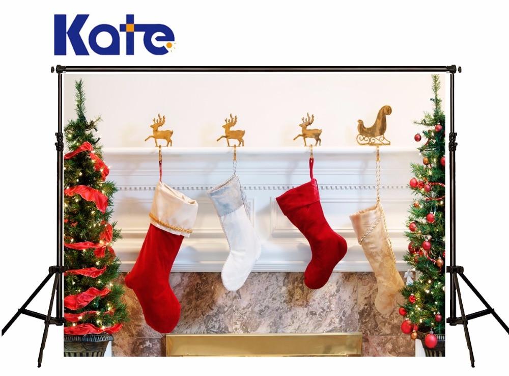 Kate Christmas Photography Backgrounds Christmas Trees Socks Photo Backdrops For Children Photo Studio Camera Fotografica flame trees of thika