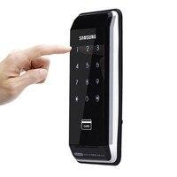 SAMSUNG Ezon SHS 2920 безопасности вход бескнопочный электронный Новый цифровой дверной замок + 4 RFID карты