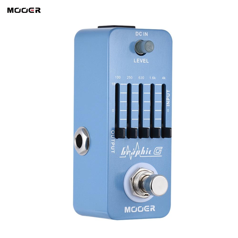 buy mooer graphic g guitar pedal mini equalizer guitar effect pedal 5 band eq. Black Bedroom Furniture Sets. Home Design Ideas