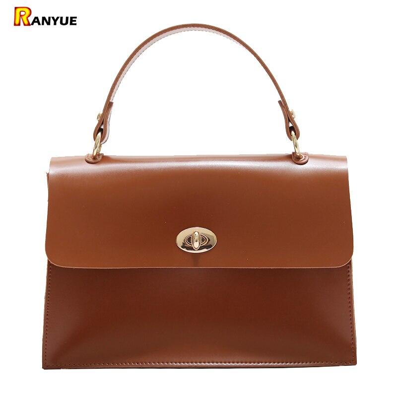 f971b06c2b Vintage Lock Women Bag Small Tote Shoulder Handbag Crossbody Bags For Women  Messenger Bags High Quality Pu Leather Bolsos Mujer