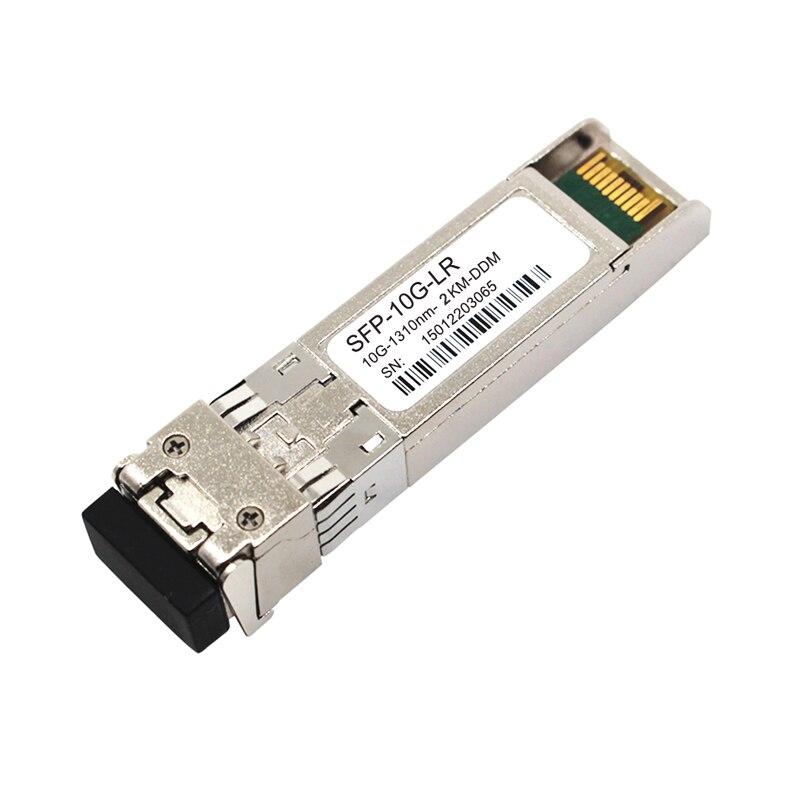 manufactory wholesale 2 pcs compatible 10G sfp module 1310nm 10KM SFP+ transceiver dual fibermanufactory wholesale 2 pcs compatible 10G sfp module 1310nm 10KM SFP+ transceiver dual fiber