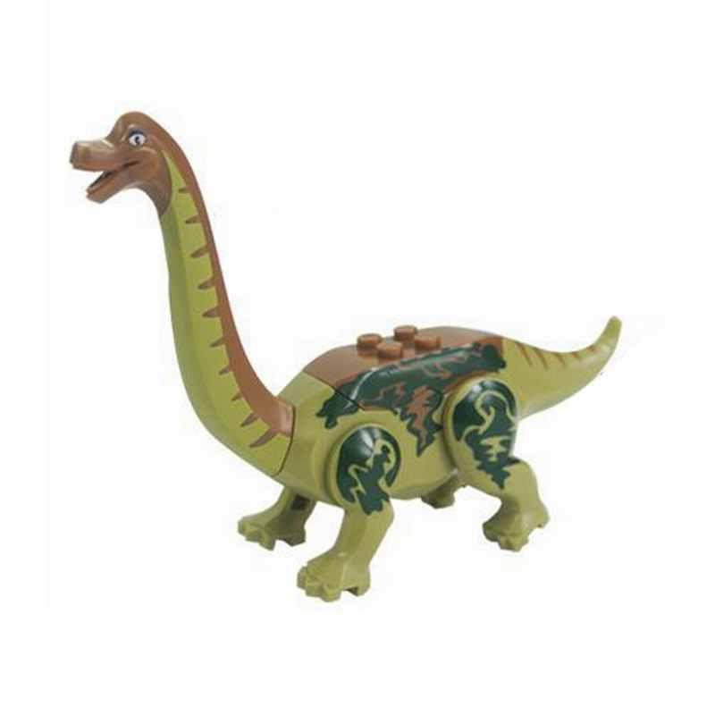 Legoing Dinossauros Do Jurássico Brachiosaurus Pterosauria Building Blocks Brinquedos Para Crianças Dinossauro Tiranossauro Rex Legoing Brinquedo
